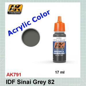 AKI 791 IDF Sinai Grey 1982