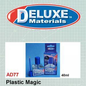 Plastic models glue