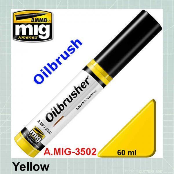 AMMO Mig yellow oilbrusher