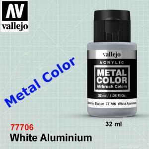 Vallejo 77706 White Aluminium