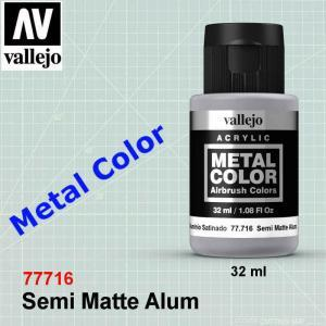 Vallejo Semi Mate Aluminium