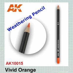 Vivid Orange Weathering Pencil