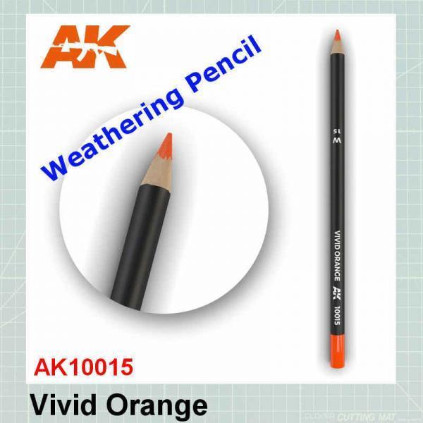 Vivid Orange Weathering Pencil
