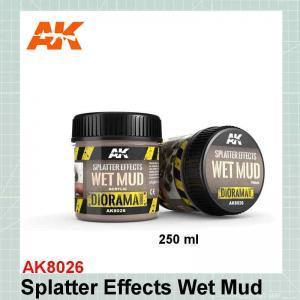 Splatter Effect Wet Mud AK8026