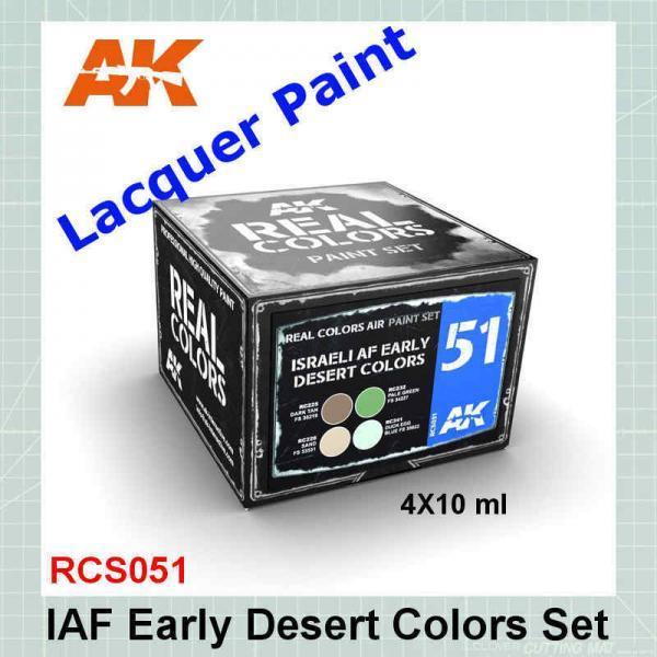 IAF Early Desert Colors Set RCS051
