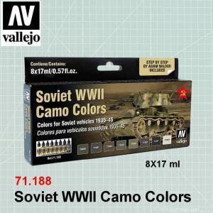 Soviet WWII Camo Colors 71.188