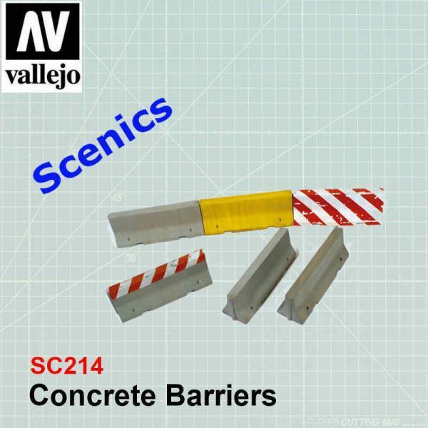 Concrete Barriers SC214