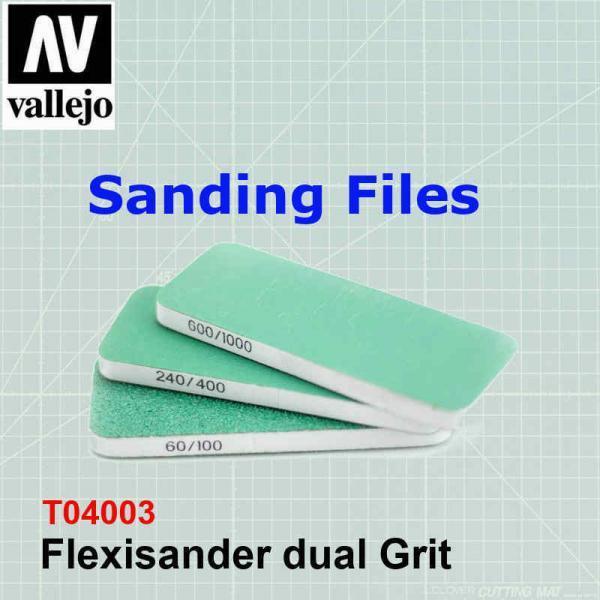 Flexisander dual Grit T04003