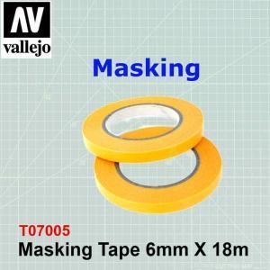 Masking Tape 6mm x 18m PMA2006
