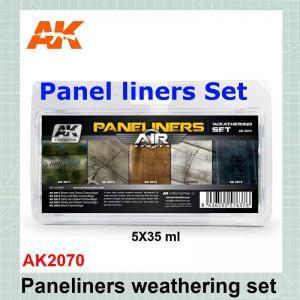Paneliners Weathering set AK2070