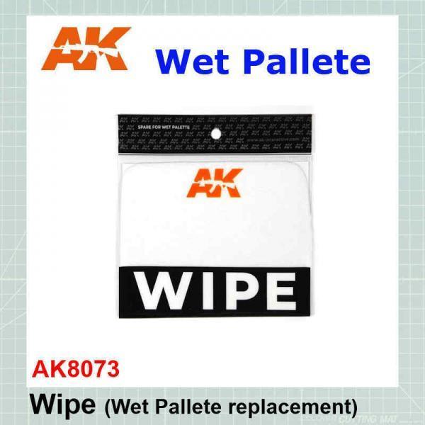 Wipe (Wet Pallete replacment) AK8073