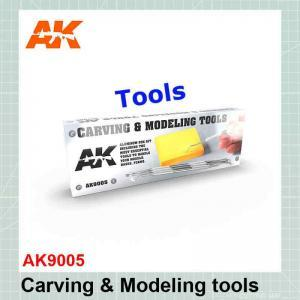 Carving Tools Deluxe Box AK9005