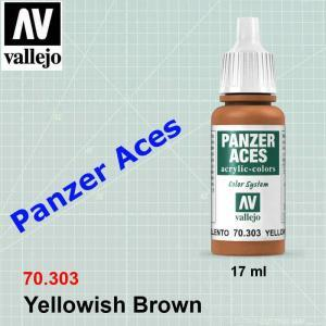 Panzer Aces Yellowish Brown 70.303