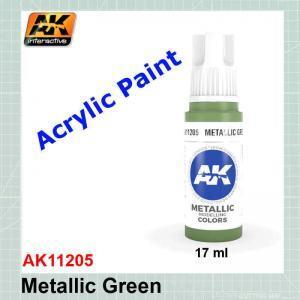 Metallic Green AK11205