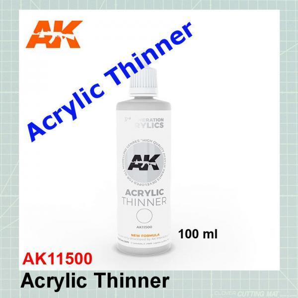 Acrylic Thinner AK11500