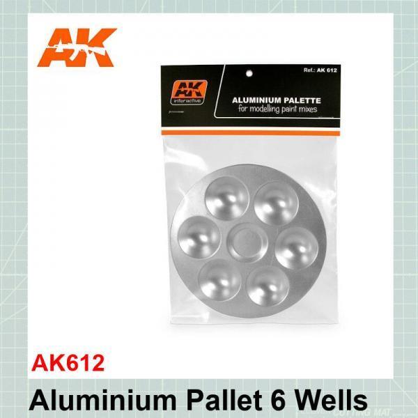 Aluminium Pallet 6 Wells AK612