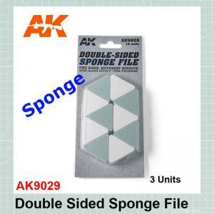 Double Sided Sponge File AK9029