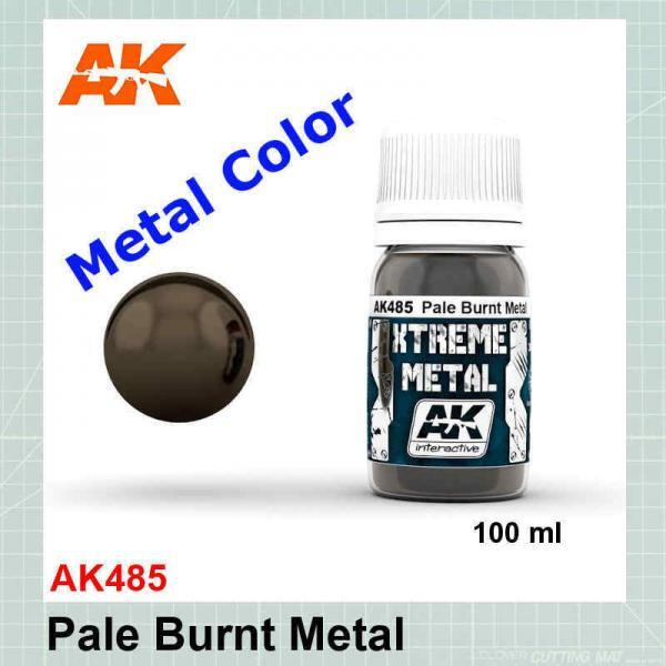 Xtreme Metal Pale Burnt Metal AK485