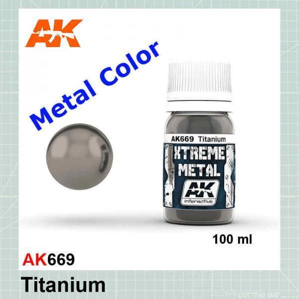 Xtreme Metal Titanium AK669