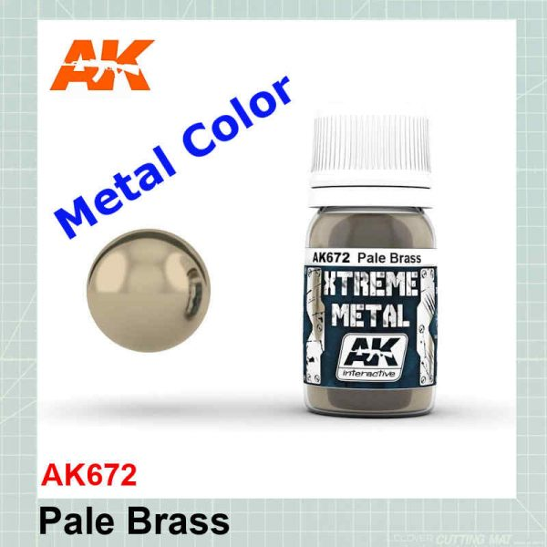 Xtreme Metal Pale Brass AK672