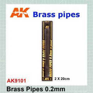 Brass tube 0.2 mm AK-9101
