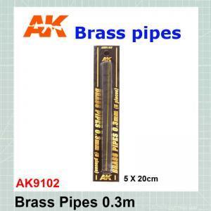 Brass tube 0.3 mm AK-9102