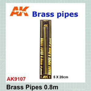 Brass tube 0.8 mm AK-9107