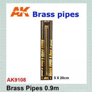 Brass tube 0.9 mm AK-9108
