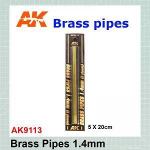 Brass tube 1.4 mm AK-9113
