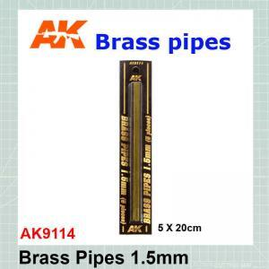 Brass tube 1.5 mm AK-9114