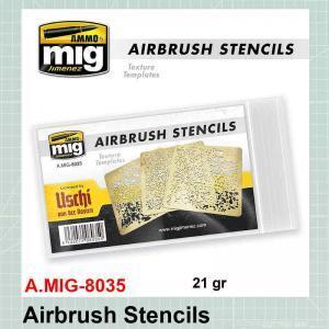 Airbrush Stencils AMIG-8035