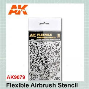 Flexible Airbrush Stencil-9079