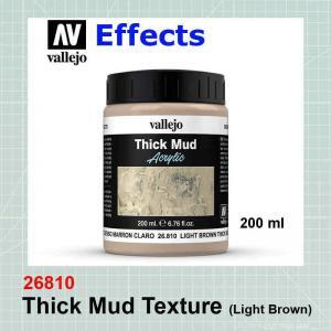 Thick Mud Texture - Light Brown 26.810