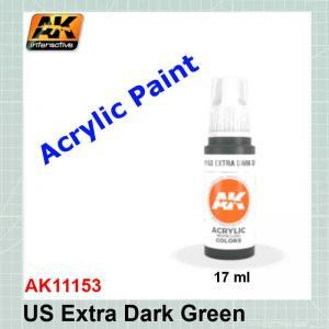US Extra Dark Green - Standard AK11153