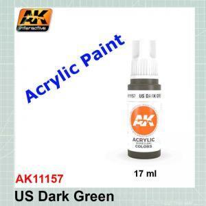 US Dark Green - Standard AK11157