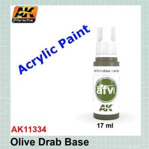 Olive Drab Base - AFV AK11334