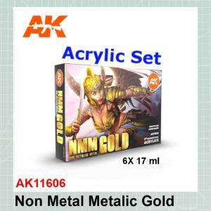 NMM Non Metallic Metal Gold Set AK11606