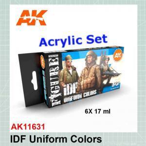 IDF Uniform Colors Set AK11631