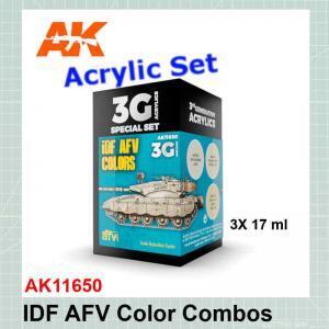 IDF AFV Color Combos Set AK11650