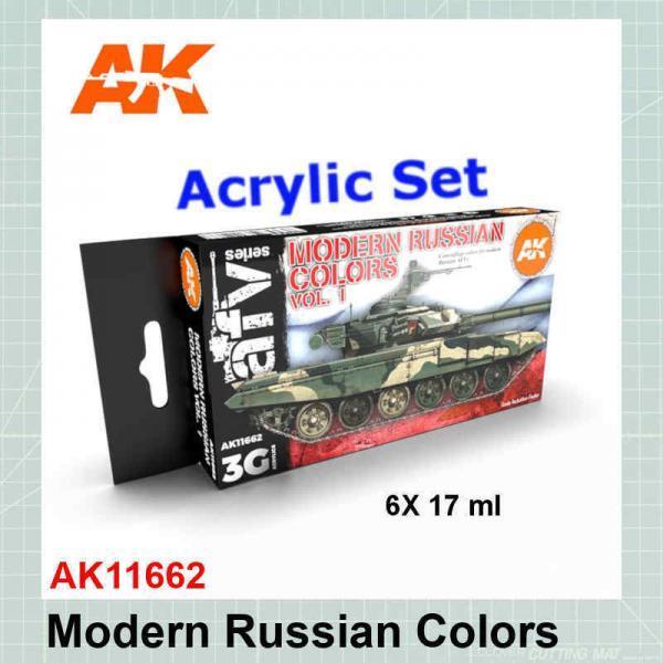 Modern Russian Colors Set AK11662