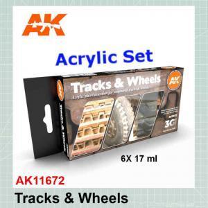 Tracks and Wheels Set AK11672