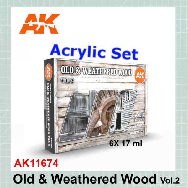 Old & Weathered Wood Vol.2 Set AK11674