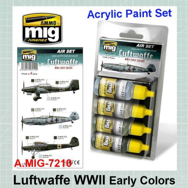 Luftwaffe WWII Early Colors AMIG-7210