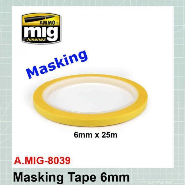 Masking Tape 6mm AMIG-8039