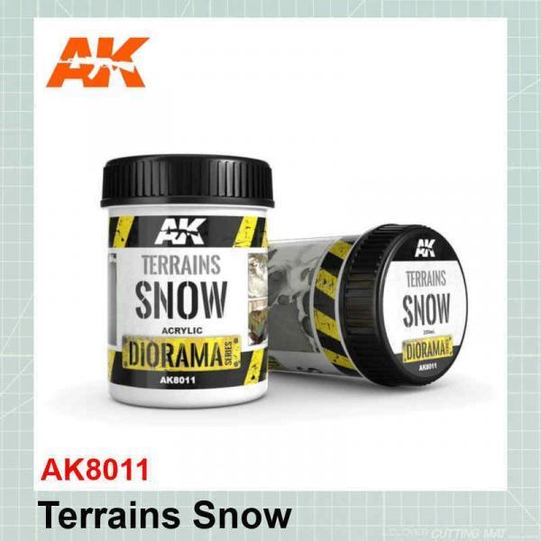 Terrains Snow AK8011